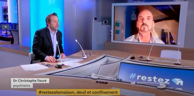 ITW TV Christophe Fauré - Mieux vivre le deuil